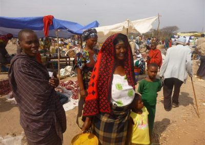 Gwandi Market day is held only once a month, everyone comes.